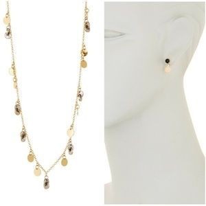 Nordstrom Melrose and Market Necklace Earrings Set